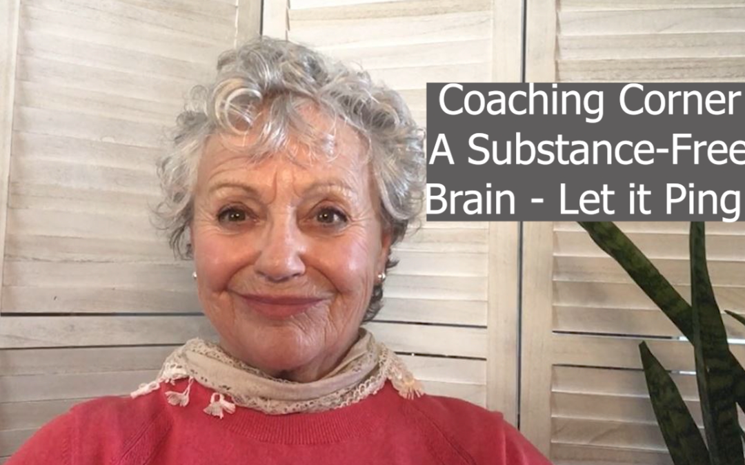 A Substance-Free Brain – Let it Ping!