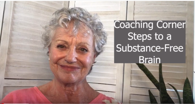 Coaching Corner – A Substance-Free Brain